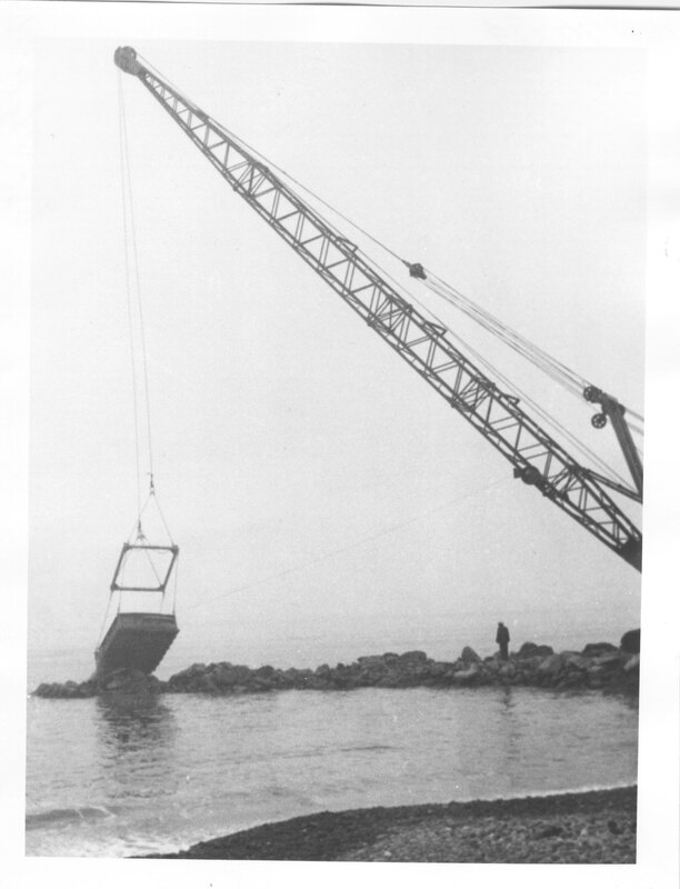 Building a Jetty at Ventura Harbor