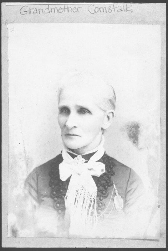 Portrait of Adelaide Comstock