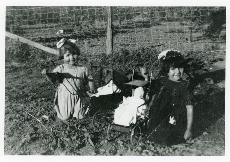 Ruby and Rosa Vanegas as Children