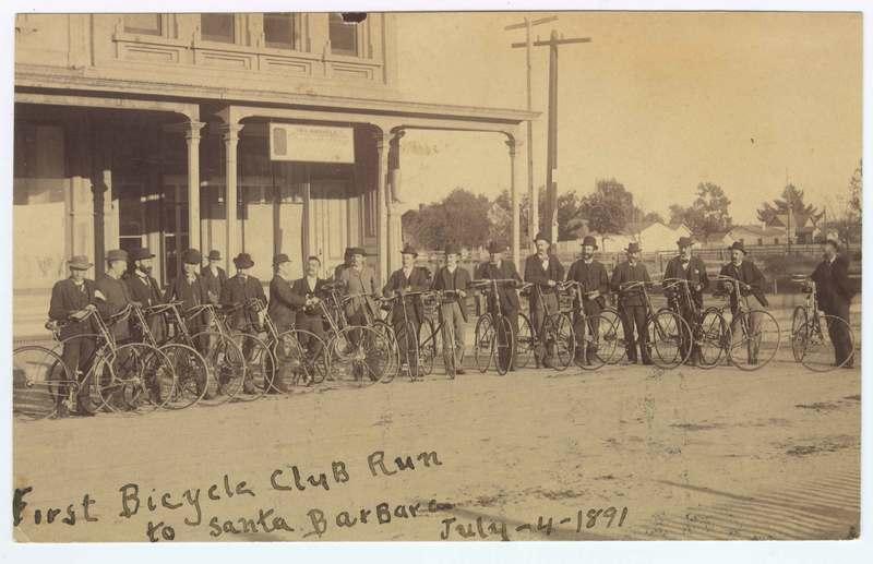 First Bicycle Club Run