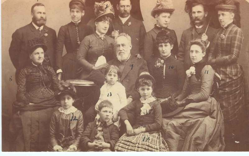General and Mrs. William Vandever with Family and Friends