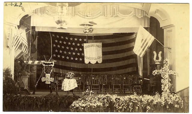 Stage at Armory Hall
