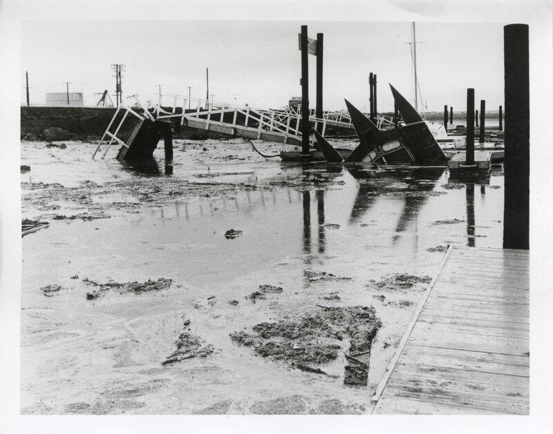Ventura Harbor Flooded