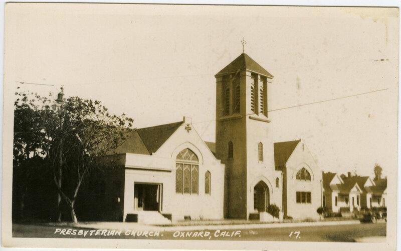 Presbyterian Church postcard