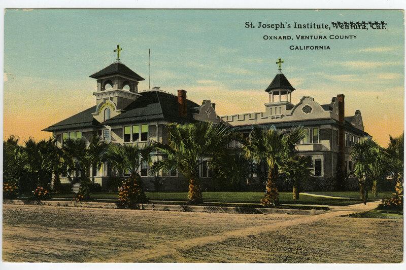 St. Joseph's Institute, Oxnard Postcard