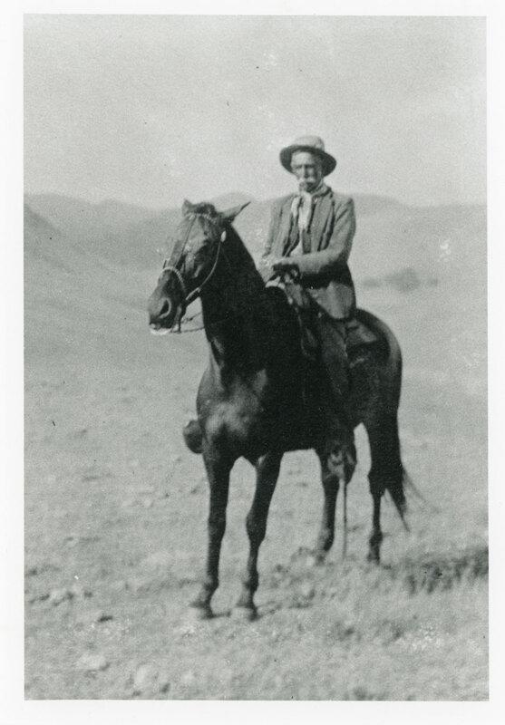 Ramon Vanegas on Horseback