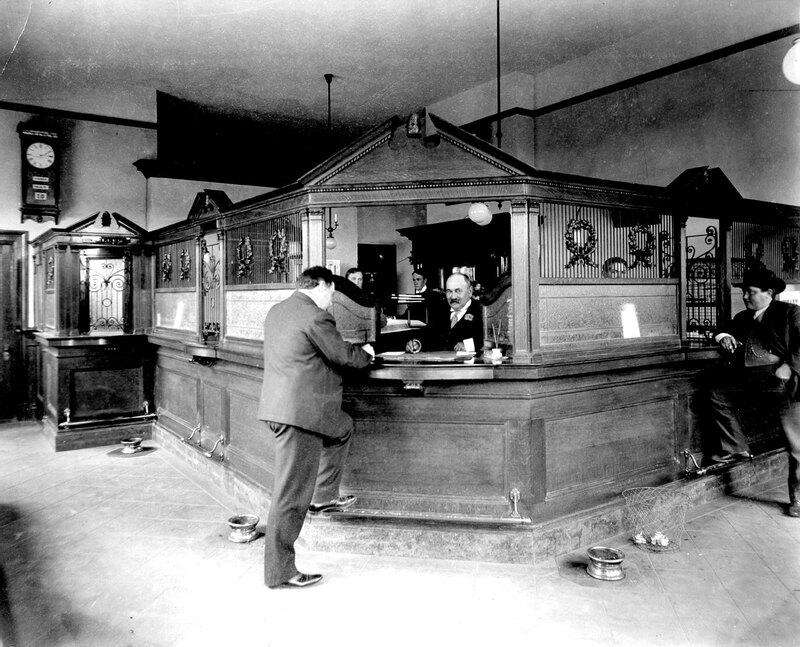 Bank of A. Levy Interior