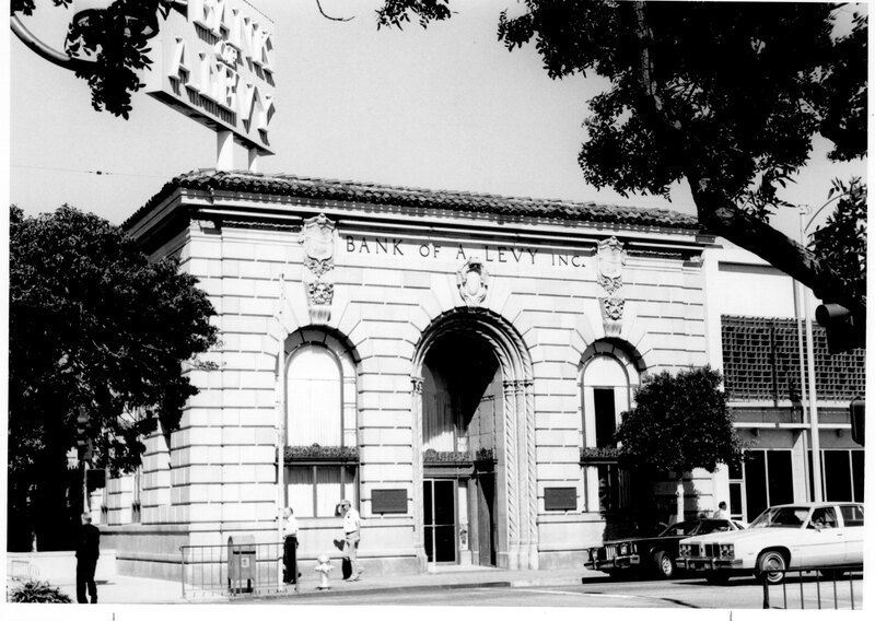 Bank of A. Levy