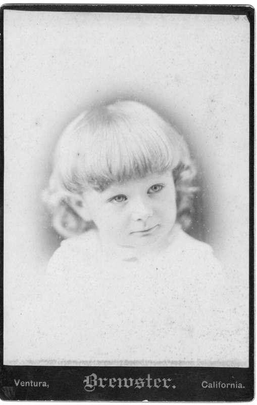 Robert Sudden child portrait