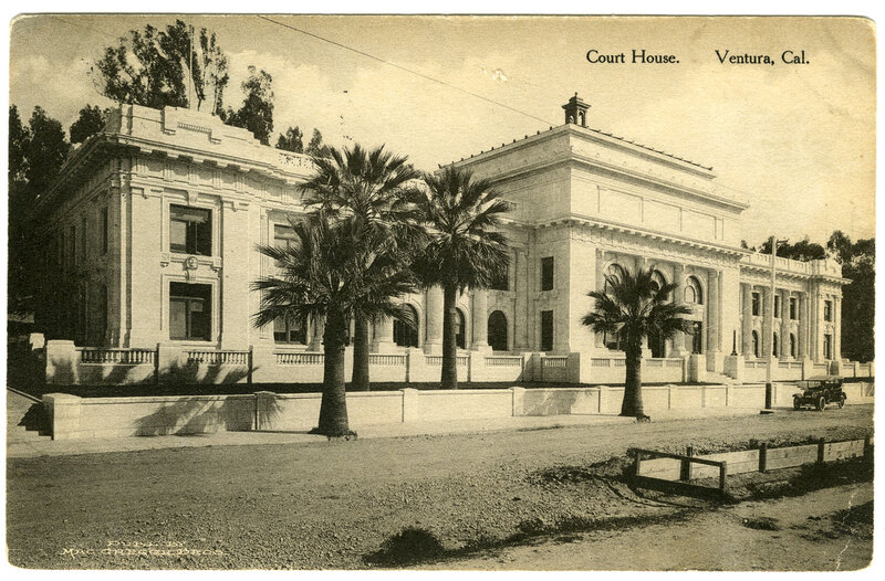 Court House postcard
