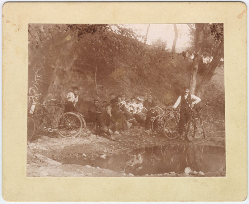 Bicycle Outing, 1890's