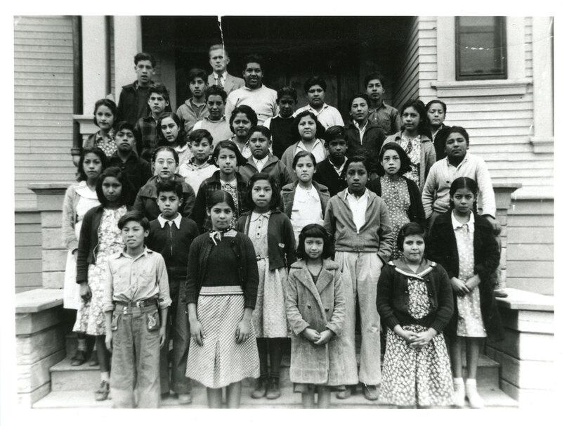 Mountain View School, Fillmore 5th Grade Class, 1938