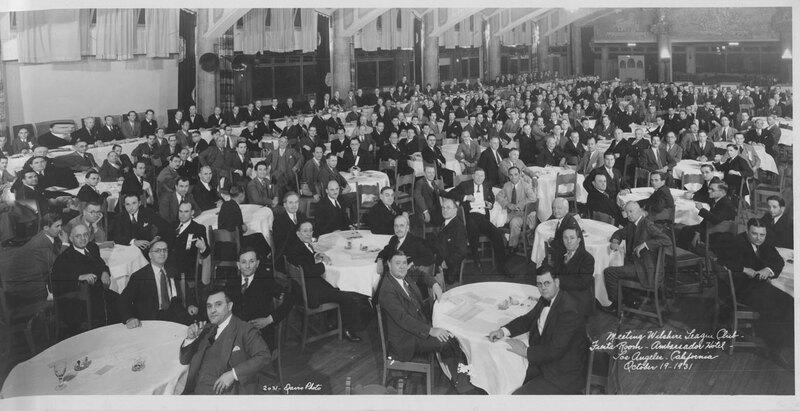 Wilshire League Club Meeting, 1931
