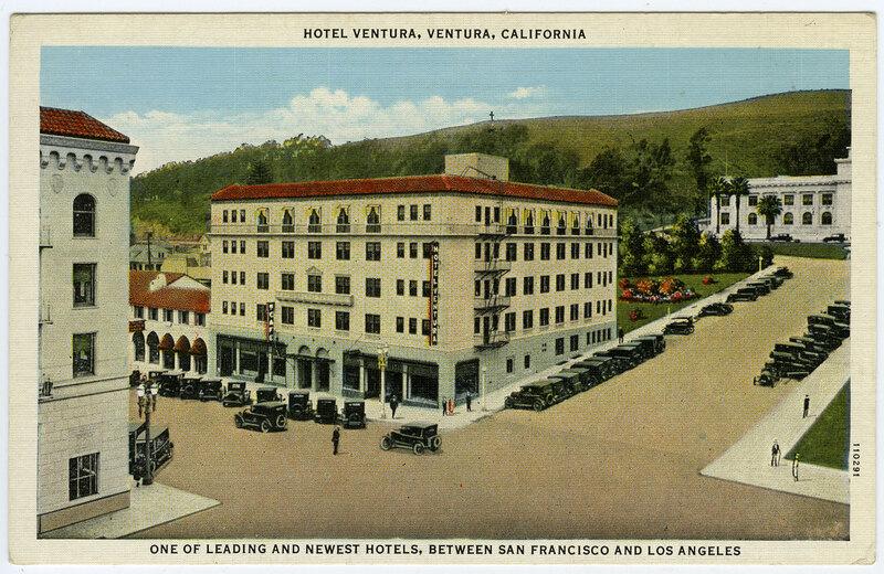 Hotel Ventura postcard
