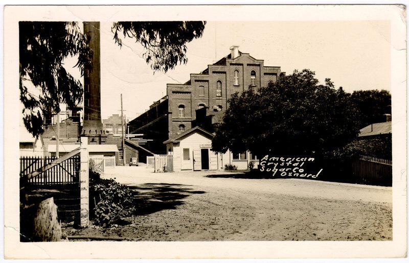 American Crystal Sugar Company postcard