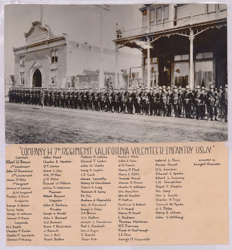 Company H, 7th Regiment California Volunteer Infantry U.S.W.V.