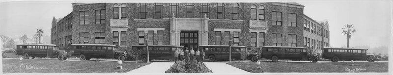 Ventura Senior High School Buses and Drivers