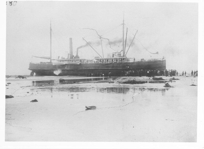 Coos Bay run aground