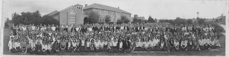 Oxnard Union High School Group Portrait