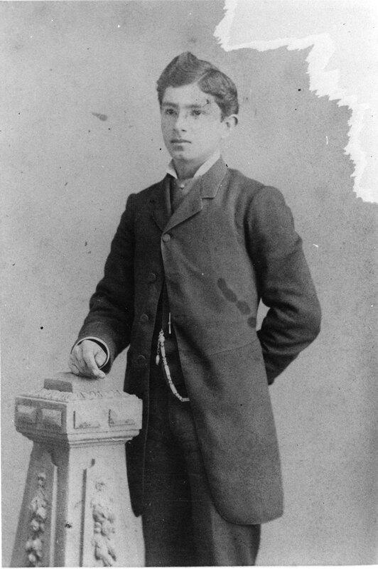 Adolfo Camarillo, Portrait at 16
