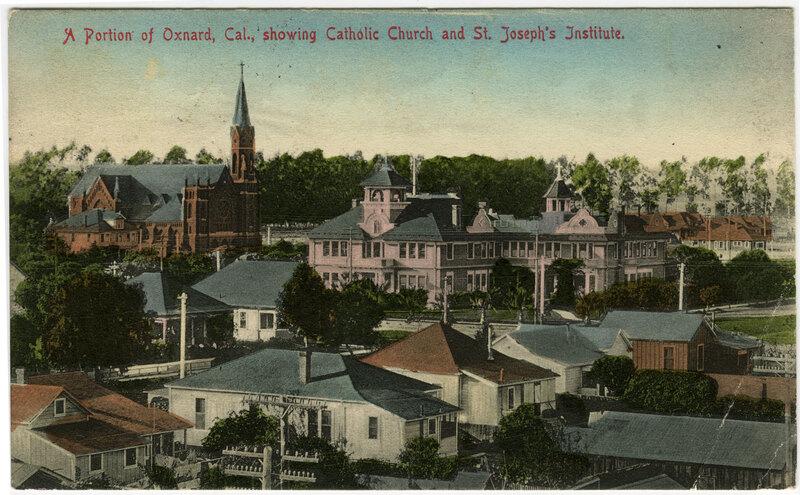 Portion of Oxnard postcard