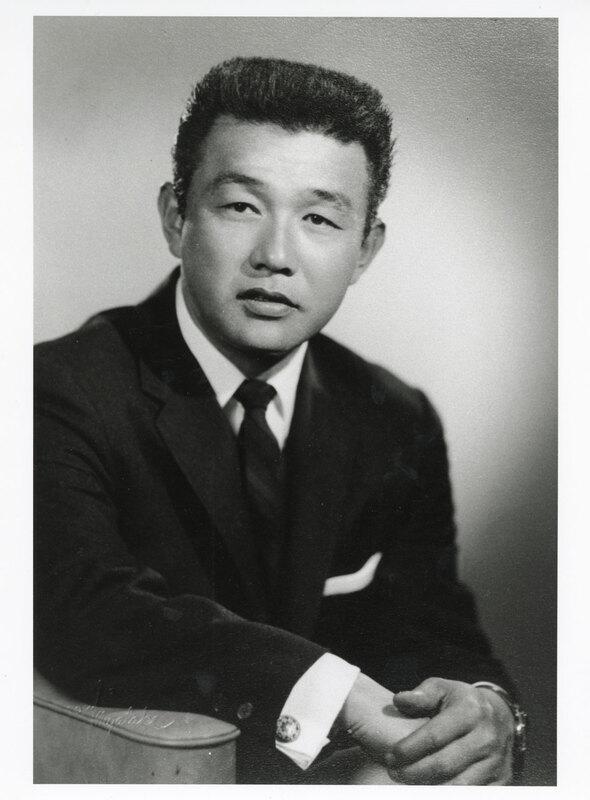 Nagao Fujita Portrait, 1970