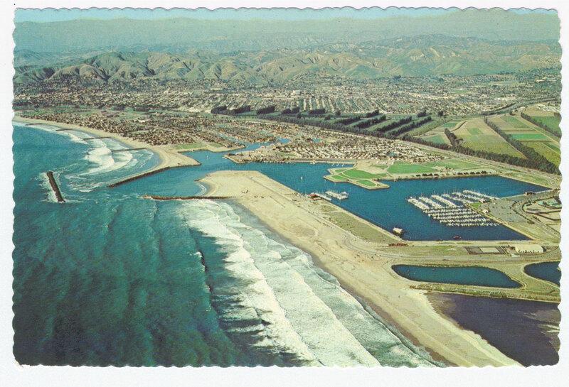 Ventura Marina postcard