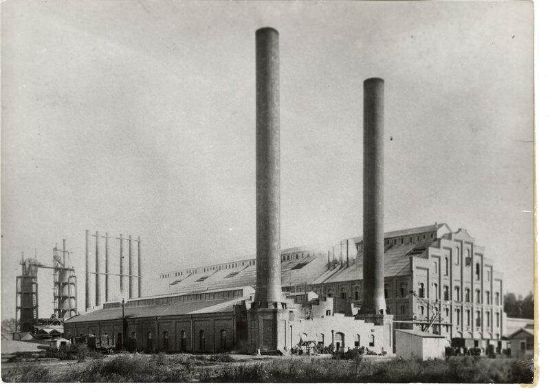 Oxnard Sugar Beet Factory, Side View