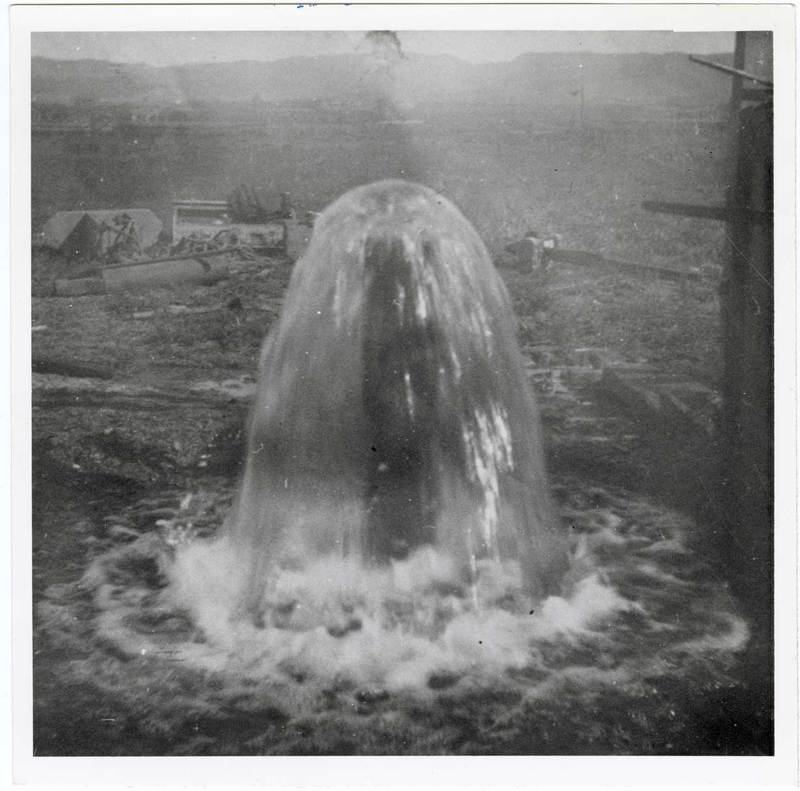 First artesian well in Saticoy