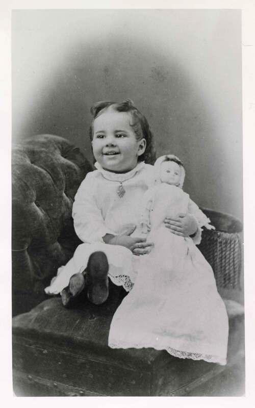 Pansy Augusta Brewster, Baby Portrait