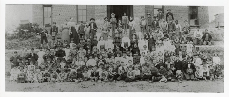 Group Photo of the Hill School Student Body