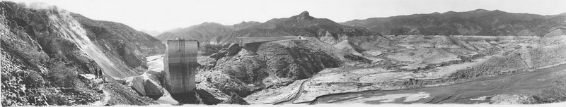Ruins of San Francisquito Reservoir