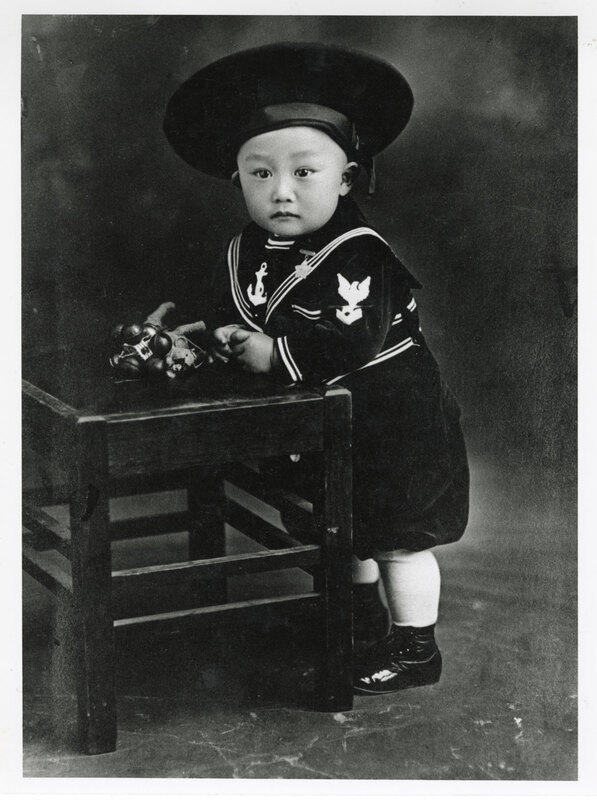 Leonard Takasugi On His First Birthday