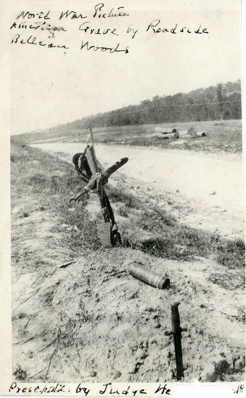 Word War I grave near Belleau Woods