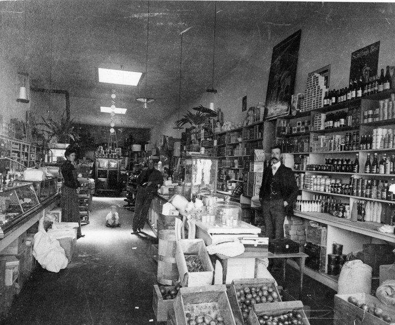 Grocery Store, J. P. Browne