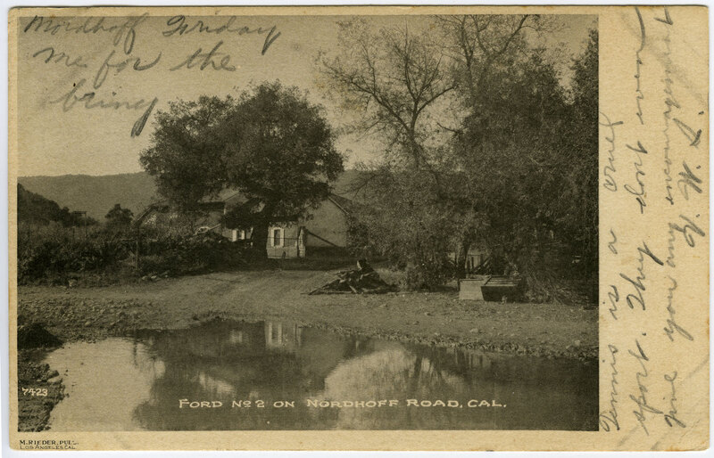 Ford no. 2 postcard