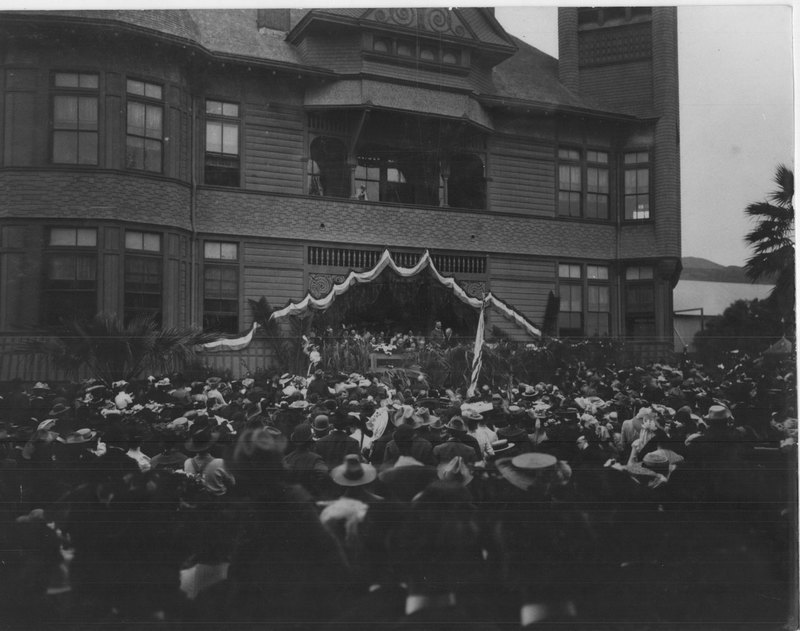 Theodore Roosevelt at Plaza School