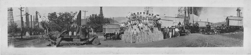 Group Photograph, Shell Oil Company California Ventura Division