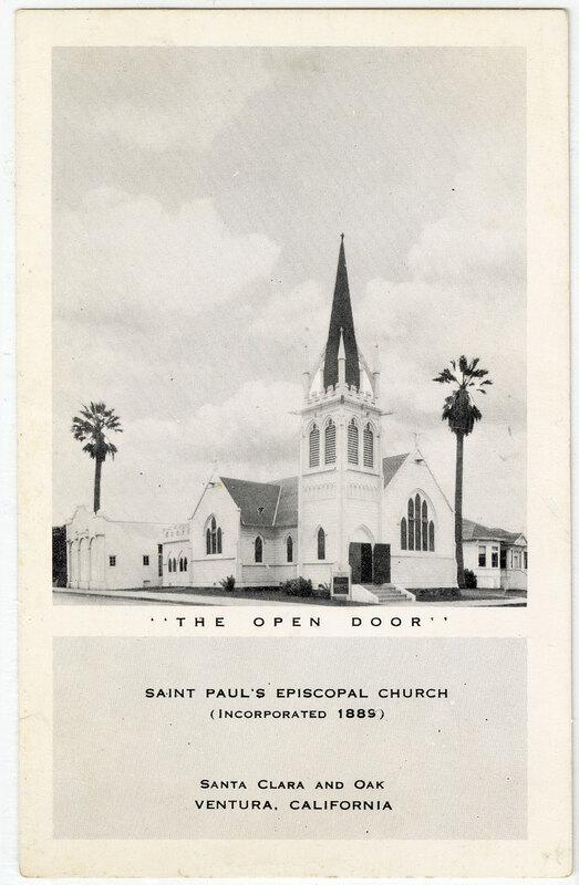 Saint Paul's Episcopal Church Postcard