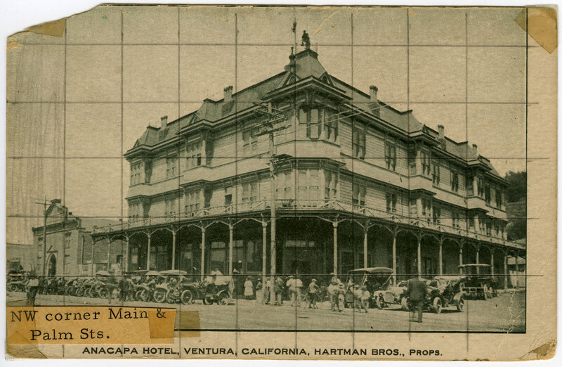 Anacapa Hotel Postcard