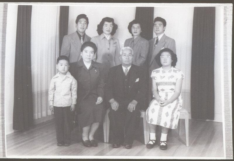 Moriwaki Family Portrait, 1948