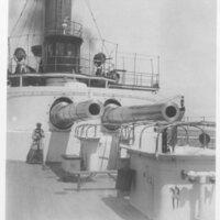 Battleship Deck Guns