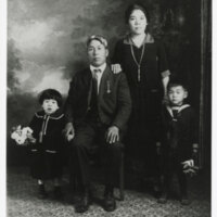 Moriwaki Family Portrait, 1925