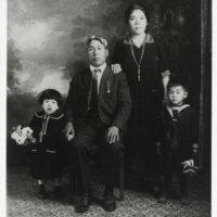 Moriwaki Family Portrait, 1925