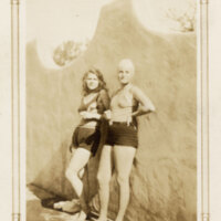 Bonita McFarland and Katherine Hoffman in Swimsuits