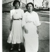 Portrait of Two Girls, Ocean Park