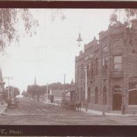 Oak Street, Ventura, 1887