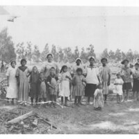 Apricot Pitting Crew, A. Everett Ranch