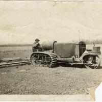 Yuba Tractor on Vanoni Ranch