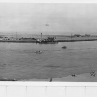 Panorama of Port Hueneme Harbor